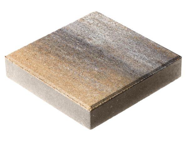Тротуарная плитка Квадрат П15-6 300x300х60 Колормикс Песчаник