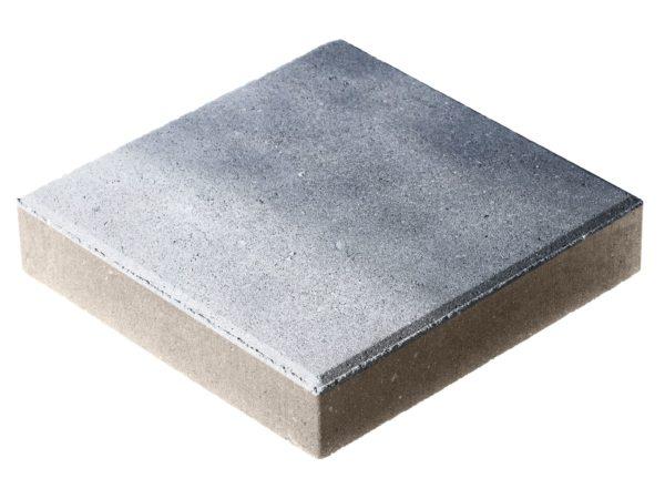 Тротуарная плитка Квадрат П15-6 300x300х60 Колормикс Сильвер