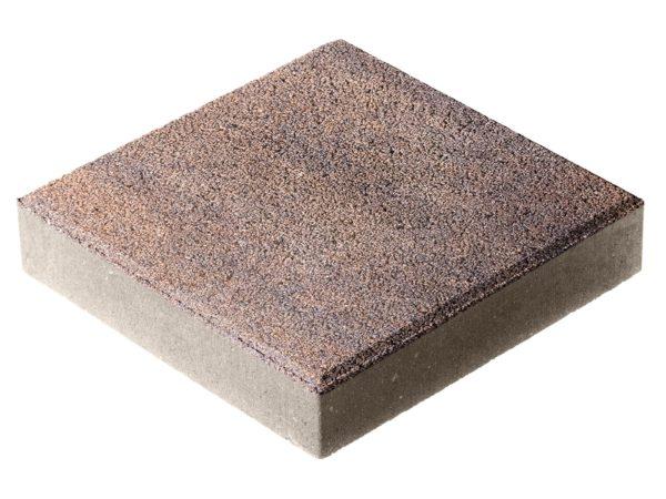 Тротуарная плитка Квадрат П15-6 300x300х60 Гранит Техас