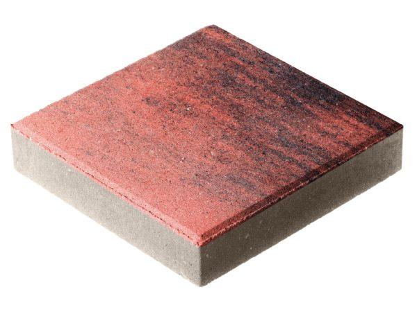 Тротуарная плитка Квадрат П15-6 300x300х60 Колормикс Вулкан