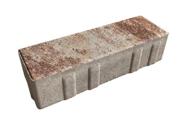Тротуарная плитка Ригель 240x80х60 Колормикс Хаски